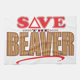 Beaver Save Towel