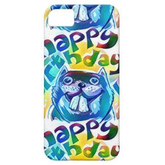 beaver say happy birthday iPhone 5 cases