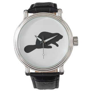 Beaver Silhouette Watch
