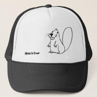 Beaver sketch cap