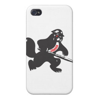 Beaver Soldier iPhone 4/4S Case