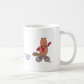 Beaver Tracks Coffee Mug