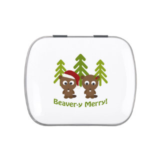 Beaver-y Merry! Christmas Beavers