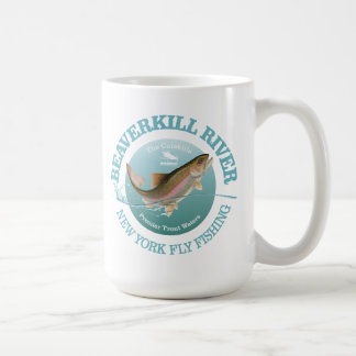 Beaverkill River Coffee Mug