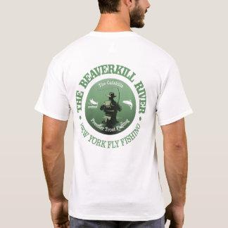 Beaverkill River (Fly Fishing) T-Shirt