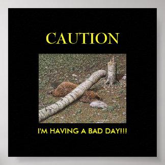 Beaver's Bad Day Poster