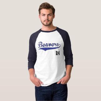 Beavers Baseball Graphic T-Shirt