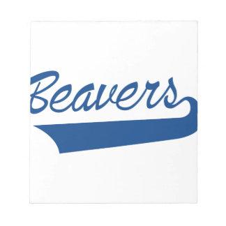 Beavers Notepad