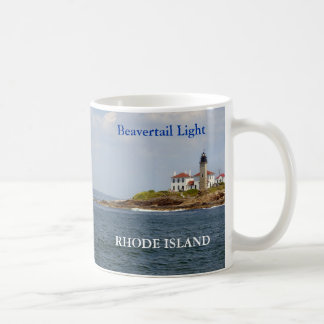 Beavertail Light, Rhode Island Mug