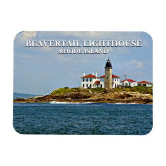 Beavertail Lighthouse, Rhode Island Magnet