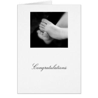 Bébé Congrats Carte De Vœux