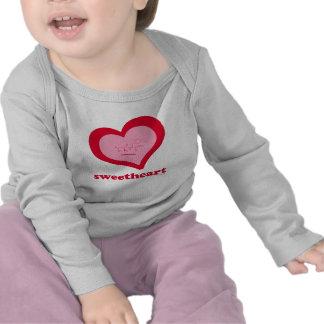 Bébé d'Amoureux-Aspartame à manches longues T-shirts