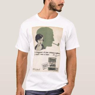 Bebe Daniels 1920s vintage pipe tobacco ad T-shirt