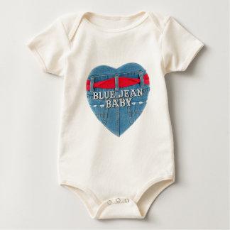 Bébé de blue-jean body