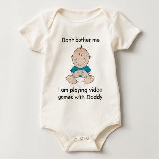 Bébé de jeu vidéo body
