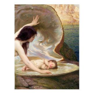 Bébé de l'eau - Herbert James Draper Carte Postale