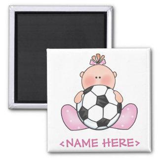 Bébé du football de Lil Magnet Carré