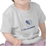 Bébé et enfant en bas âge (verticale de logo) t-shirt