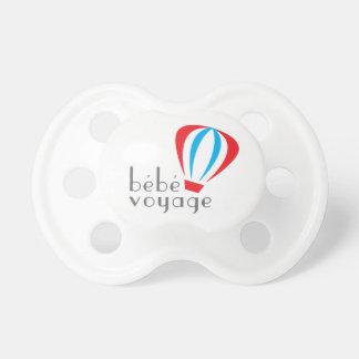 Bebe Voyage Logo Pacifier