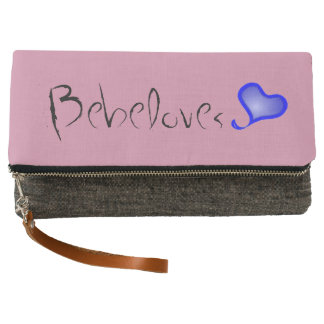 Bebeloves Fold-Over Clutch