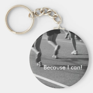 Because I can! Basic Round Button Keychain