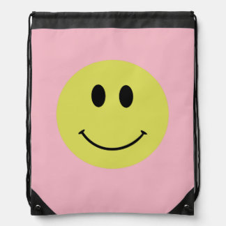 """Because I'm Happy"" Drawstring Bag"
