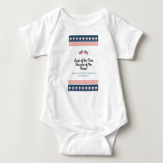 Because of the Brave Baby Bodysuit