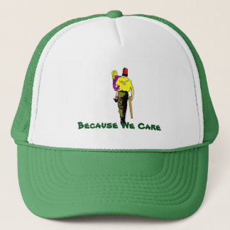 Because We Care Trucker Hat