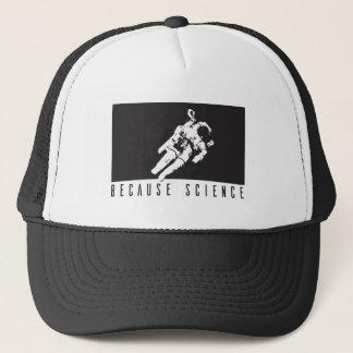 becausescience trucker hat
