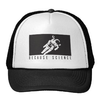 becausescience trucker hat