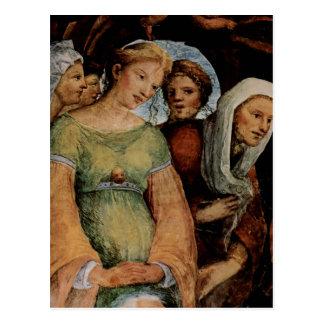 Beccafumi, Domenico Fresken im Oratorium des Hl. B Postcard