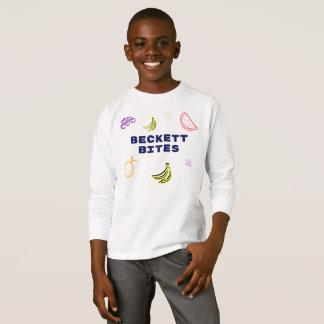 Beckett Bites Logo Kids Long Sleeve T-Shirt