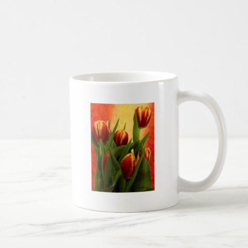 Becky's Tulips jGibney Signature Greenville SC The Coffee Mug