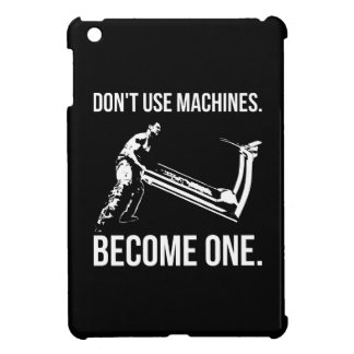 Become A Machine - Cartoon, Strongman, Treadmill Cover For The iPad Mini