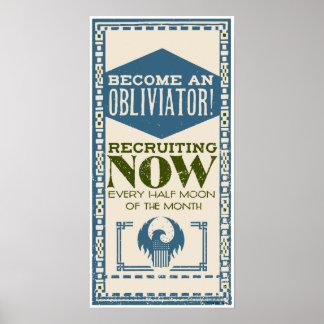Become An Obliviator Poster