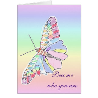 Become Who You Are Card
