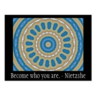 Become who you are. - Nietzshe Postcard