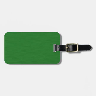 Becomes green Holzmaserung Luggage Tag