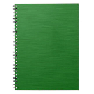 Becomes green Holzmaserung Notebooks