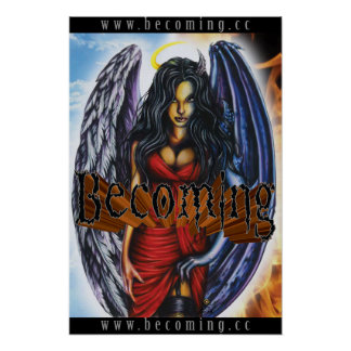 BECOMING - Angel Demon Poster