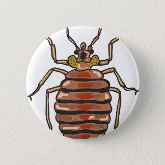 Bed Bug Sketch 2 Inch Round Button