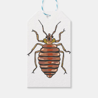 Bed Bug Sketch Gift Tags
