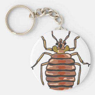Bed Bug Sketch Keychain