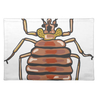 Bed Bug Sketch Placemat