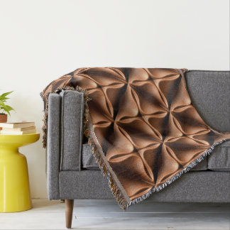 Bed cover throw blanket