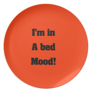 Bed mood plate