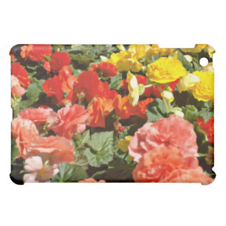 Bed of flowers Red flowers iPad Mini Cover