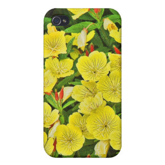 Bed of Mini Flowers iPhone 4/4S Cases