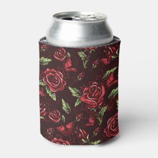 Bed of Roses Can Cooler