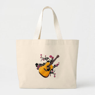 Bed of Roses Large Tote Bag